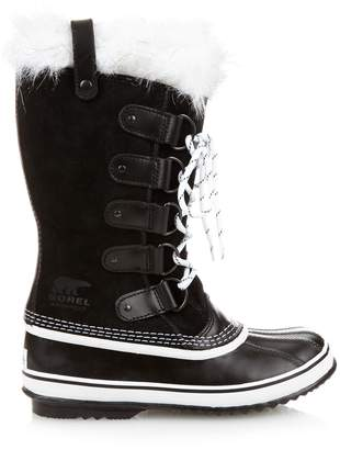 Sorel Joan of ArcticTM suede and rubber boots