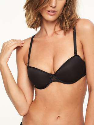 Chantelle Women's Modern Invisible Smooth Custom Fit Convertible Demi Bra