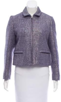 Miu Miu Iridescent Tweed Jacket