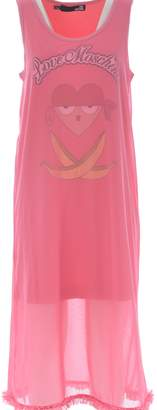 Love Moschino Tulle Overlay Graphic Dress