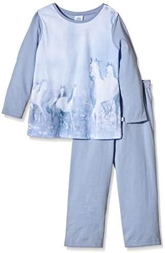 Sanetta Girl's Pyjama Set - Blue -