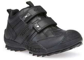 Geox Savage Boys Velcro Strap School Shoe
