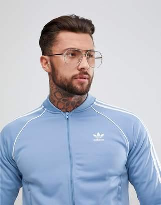 adidas adicolor Track Jacket In Blue CW1258