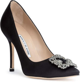015b451bad5e84 Manolo Blahnik Black Shoes For Women - ShopStyle UK