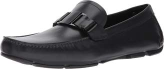 Salvatore Ferragamo Sardegna Mens Leather Loafers Shoes Made in Italy (10 D(M) US)