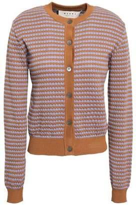 Marni Jacquard-knit Cotton Cardigan