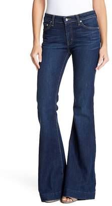 Derek Lam 10 Crosby Denim Noha Mid Rise Flare Jeans