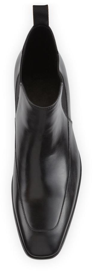 HUGO BOSS Maxis Stretch-Gore Boot, Black