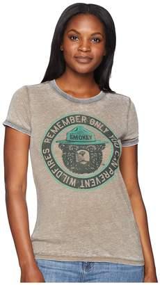 Lucky Brand Smokey Ringer Tee Women's T Shirt
