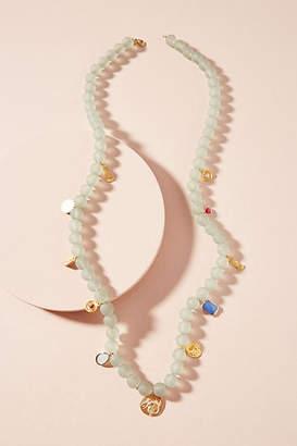 Anthropologie Sunken Treasure Beaded Necklace