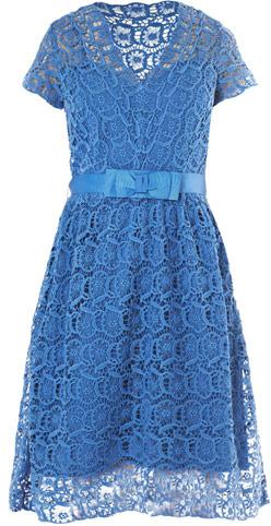 Collette Dinnigan Collette by Portobello lace dress