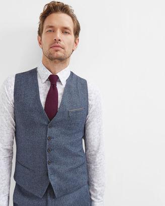 Herringbone wool vest $225 thestylecure.com