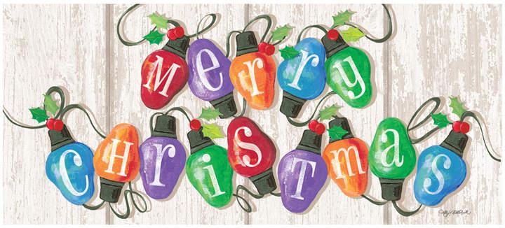 'Merry Christmas' Lights Premium Comfort Runner