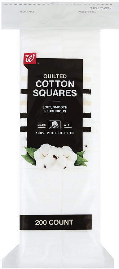 Walgreens Beauty Quilted Cotton Squares