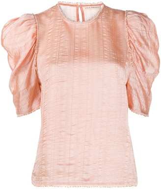 Ulla Johnson Arleigh ruffle sleeve blouse