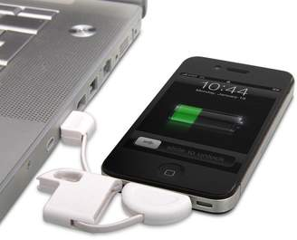 Thumbs Up iPhone Keyring with USB Charging Cable