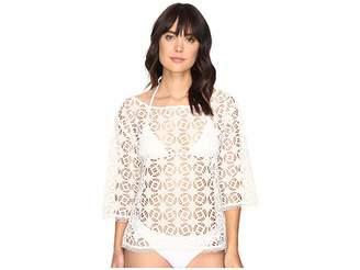 Nicole Miller La Plage By Crochet Beach Cover-Up Women's Swimwear