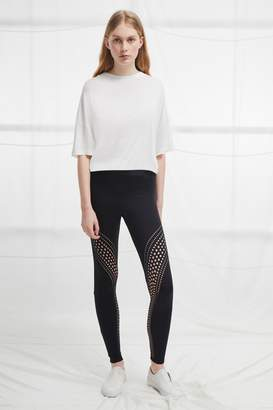 French Connenction Laser Cut Jersey Leggings