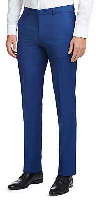 HUGO BOSS HUGO by Henry/Griffin Virgin Wool Slim Fit Suit Trousers, Medium Blue