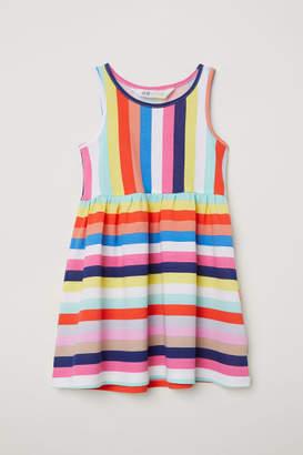 H&M Sleeveless Jersey Dress - Orange