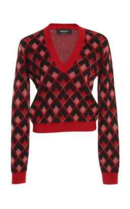 Rochas Printed Sweater