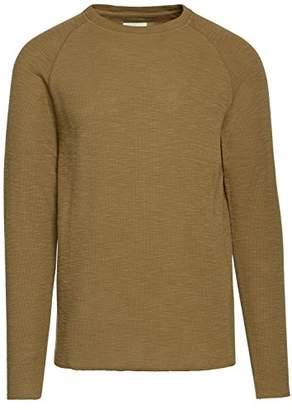 Life After Denim Men's Long Sleeve Craftsman Crew Neck Thermal T-Shirt