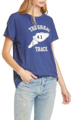 The Great The Raw Edge Boxy Crew Graphic Tee
