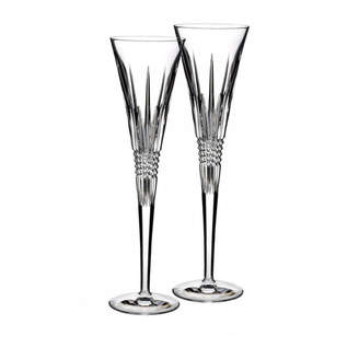 Waterford Lismore Diamond Toasting Flute Glass