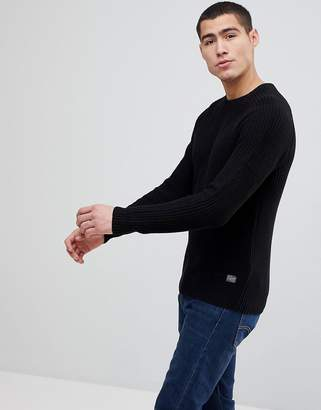 Jack and Jones Originals Knitted Sweater Cotton Rib