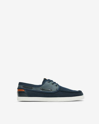 Express Canvas Boat Shoes