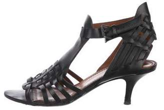 Givenchy Leather Caged Sandals