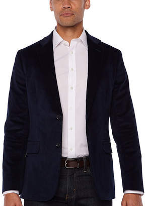 STAFFORD Stafford Corduroy Stretch Full Lined Classic Fit Sport Coat