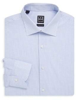 Ike Behar Checked Button-Front Shirt