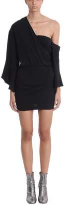 IRO Wings Black Crepe Dress