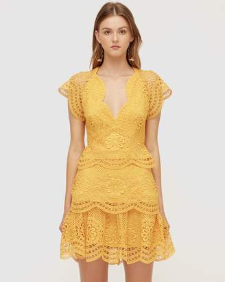 96a5bb9e7b3 Yellow Lace Dresses - ShopStyle Australia