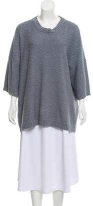 eskandar Oversize Scoop Neck Sweater