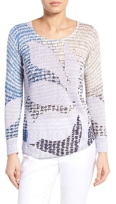 Women's Nic+Zoe Dayflower Linen Blend Top $138 thestylecure.com
