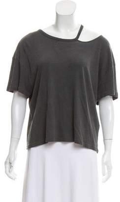 Frame Cutout Short Sleeve T-shirt