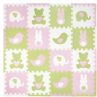 Tadpoles 16 Piece Teddy and Friends Playmat Set