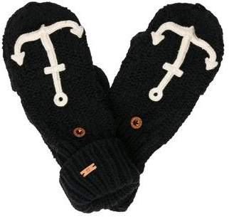 Scotch & Soda Boys' Knit Anchor Mittens w/ Tags