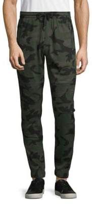 Buffalo David Bitton Camouflage Moto Pants
