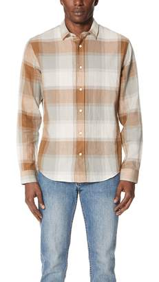 Vince Vintage Plaid Shirt