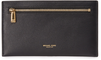 Michael Kors Collection Large Zip Card Case $195 thestylecure.com