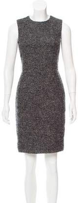 Barneys New York Barney's New York Sleeveless Tweed Dress