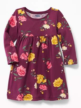 Old Navy Printed Scoop-Neck Jersey Dress for Baby
