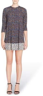 Catherine Malandrino 'Hayden' Mixed Print Minidress