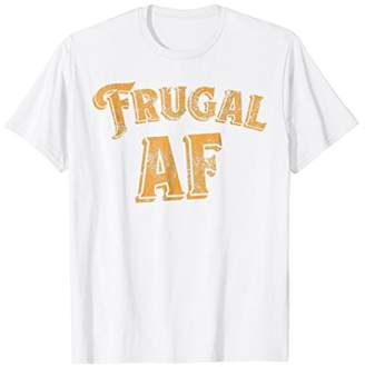 Abercrombie & Fitch Funny Retro Frugal Throwback Style T-Shirt