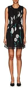 Cynthia Rowley WOMEN'S DAISY-PRINT SILK DRESS SIZE 10
