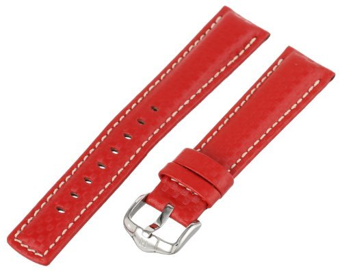 Hirsch 025920-20-20 20 -mm Genuine Calfskin Watch Strap