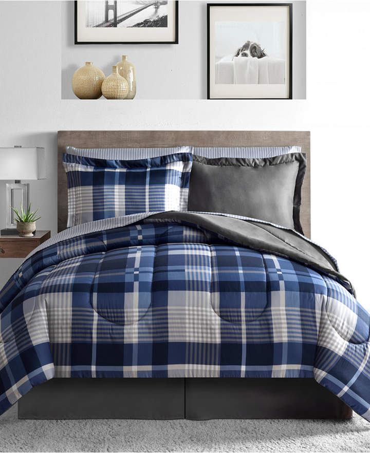 Fairfield Square Collection Alton 8-Pc. Reversible California King Comforter Set Bedding